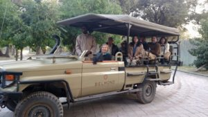 Our safari group